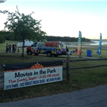 Movies In the Park Setting at City Park - 2017 (JPG)