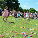 Eggstravaganza! - Kids in Egg Hunt Field