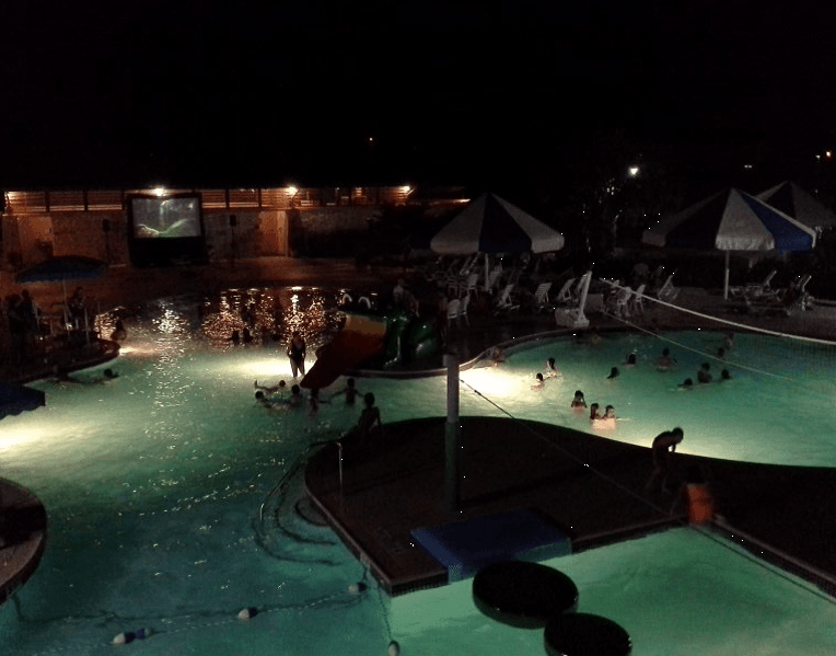 Dive-In Movies Night Shot at the Pool (JPG)