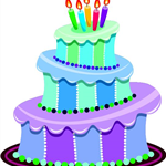 Cake Image City Birthday Banner
